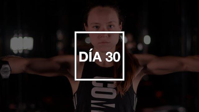 Día 30: Hombros & Tríceps con Andie