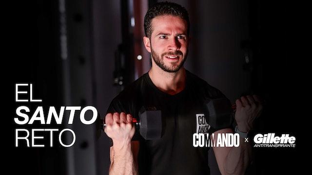 El Santo Reto / Día 14: HIIT Strength con Mariano