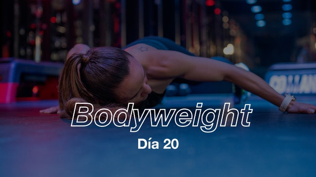 Día 20: TABATA Workout con Andie