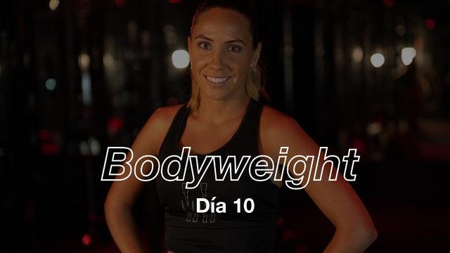 Día 10: Core & Sweat 8 exercises con Dani