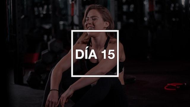 Día 15: Full Body Workout con Renata