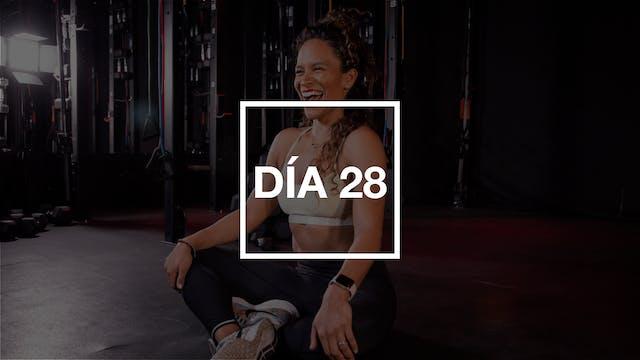 Día 28: Core & Bodyweight con Yadira