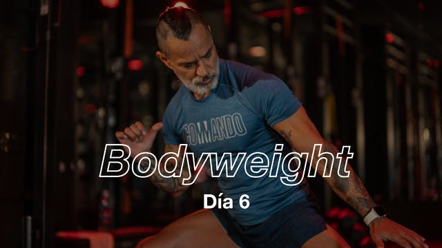 Día 6: Full Body 8 exercises con Pico