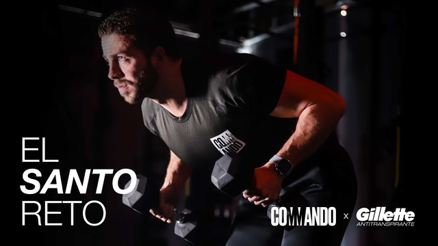 El Santo Reto / Día 18: Upper and sweat con Mariano