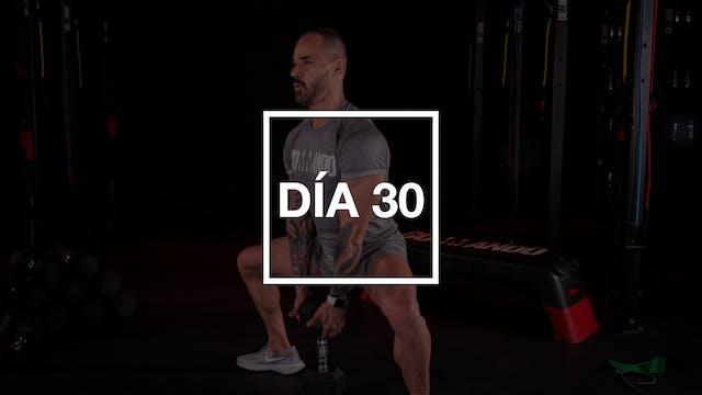Día 30: Espalda y Tríceps con Pico