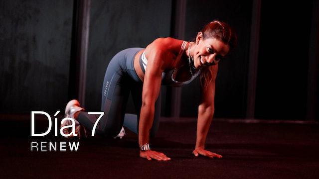 Renew: Clase 7 - Biceps, Triceps y Sweat con Maribel