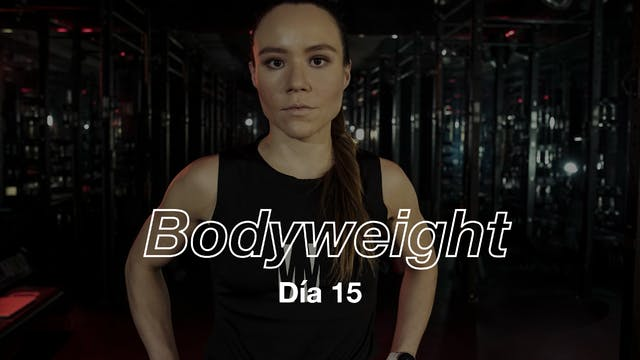Día 15:Core & sweat con Andie