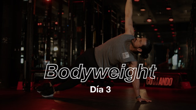 Día 3: TABATA Workout con Pete