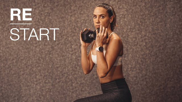ReStart/ día 8: Lower Focus & sweat c...