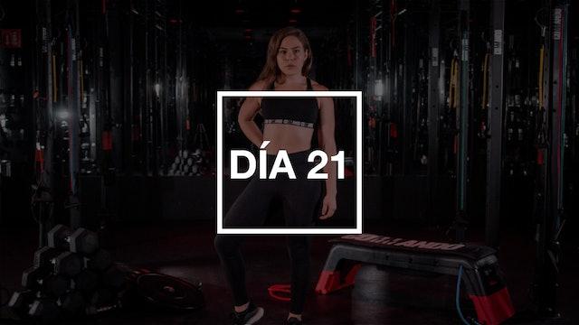 Día 21: HIIT Full Body Workout con Renata