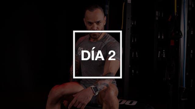 Día 2: Pecho y Bíceps con Pico