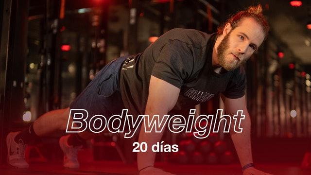 Bodyweight 20 días