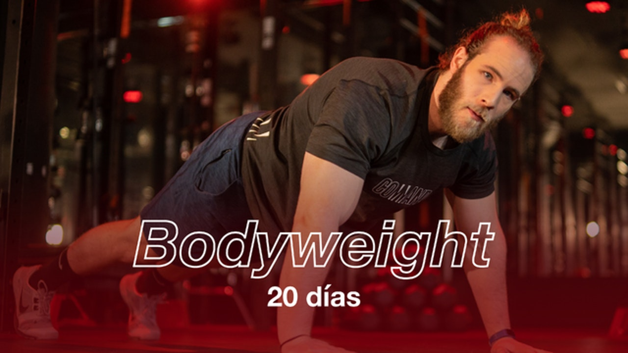 Bodyweight 20 días