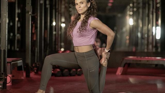 Stretch para cuádriceps y flexores con Yadira