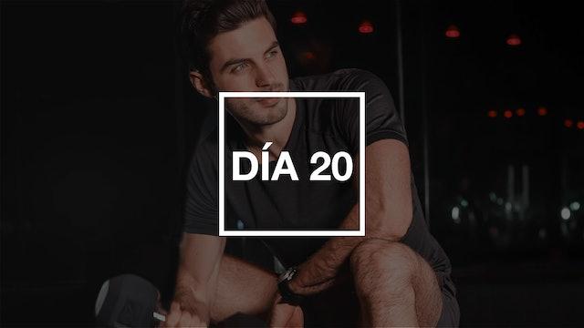 Día 20: Full Body Strength & Endurance con Jero