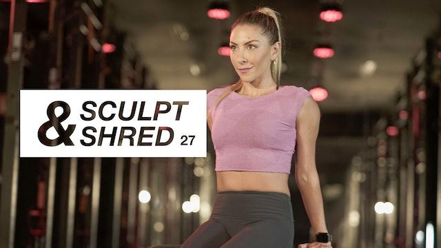 Entrenamiento 27: Bíceps, Tríceps y hombros con Gaby