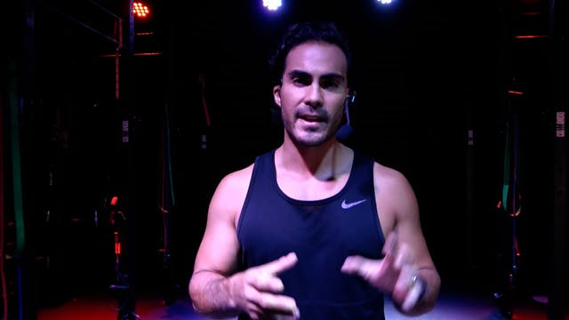 Upper body burn & sweat con José Manuel