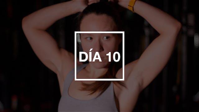 Día 10: Legs & Sweat con Andie