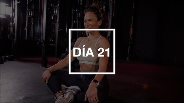 Día 21: Stretch y flexibilidad con Ya...