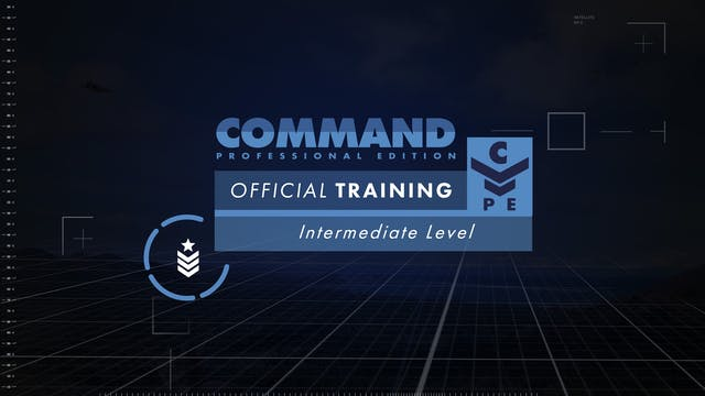 Command PE - Intermediate Training