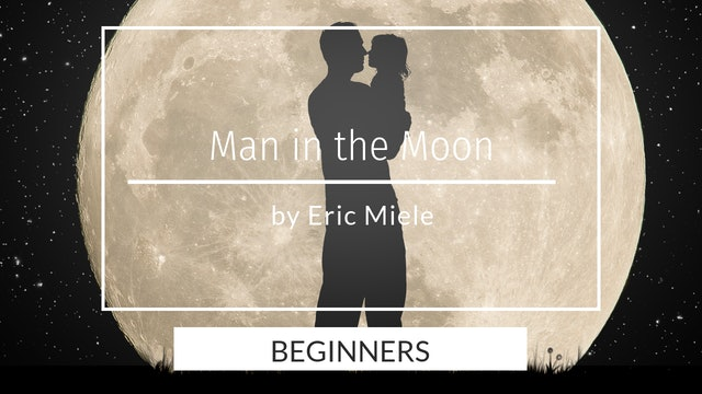 Man holding child in moon silhouette - beginners by Eric Miele - Feb 2020