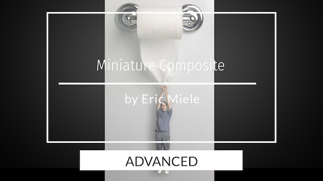 Mini me hanging from toilet paper - Advanced users by Eric Miele April 2020