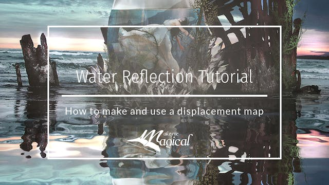 Water reflection teaser by Makememagi...