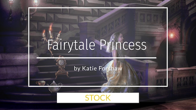 Fairytale Princess Background by Katie Forshaw - Makememagical