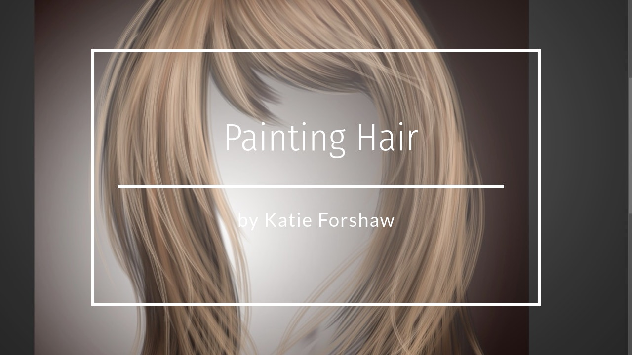 Painting Hair by Katie Forshaw - Makememagical