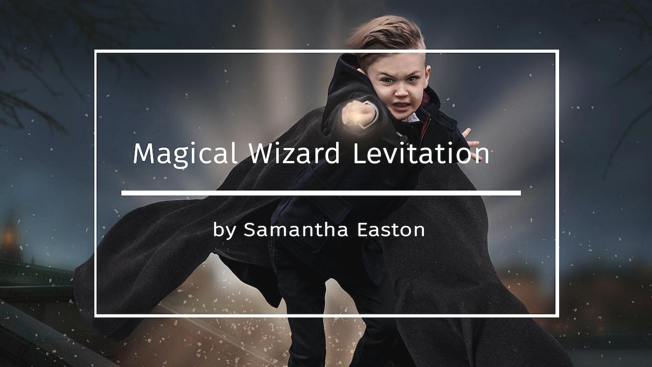 Magical Wizard Levitation
