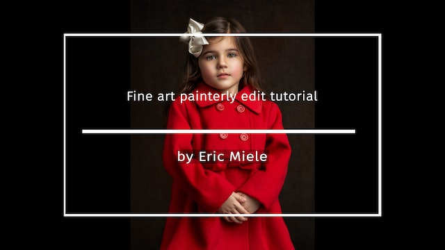 Fine art painterly edit by Eric Miele March 2021