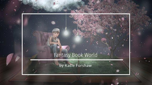 Fantasy Book World Backdrop tutorial ...