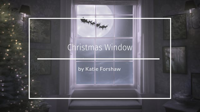 Christmas Window tutorial