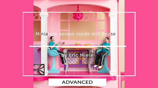 Mini me in doll house tutorial for ad...