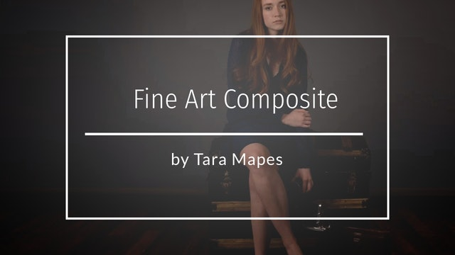 Fine Art: Adding a Floor and Backdrop to Your Studio by Tara Mapes