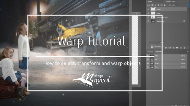 Warp tutorial by Makememagical - Katie Forshaw