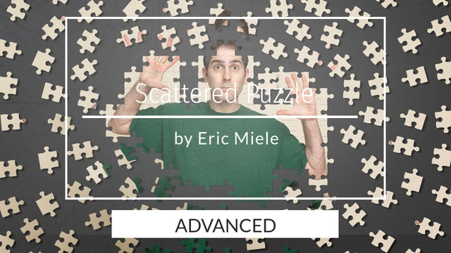 Scattered puzzle composite tutorial. Advanced users by Eric Miele - April 2020