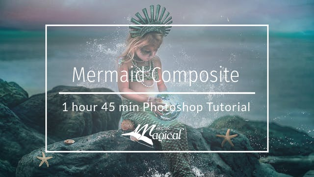 Mermaid Composite Tutorial by Katie Forshaw - March 2020