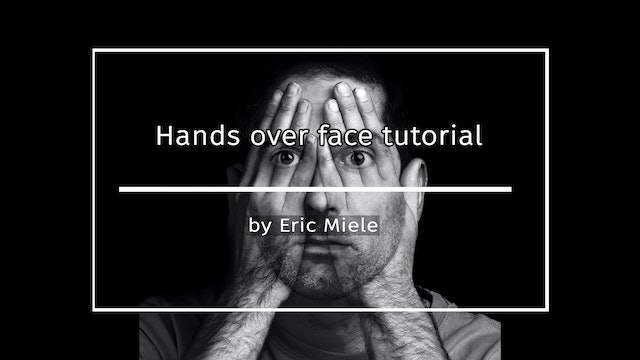 Hands Over Face by Eric Miele APRIL 2021