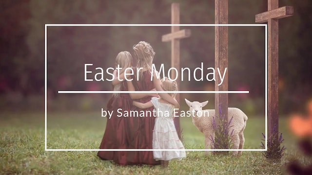 Easter Monday Tutorial by Samantha Easton