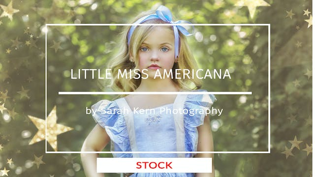 Little Miss Americana | Fine Art Tuto...