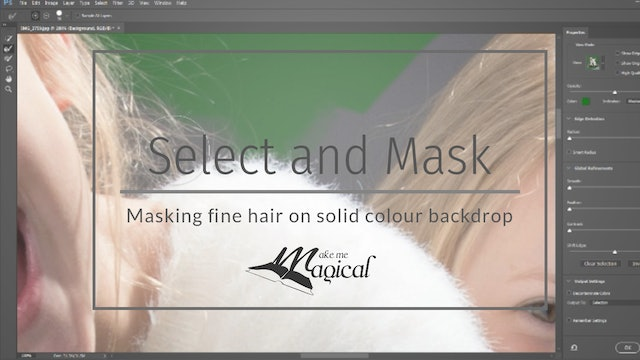 Masking hair and fur by Katie Forshaw - Makememagical - March 2020