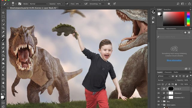 Dino Composite by Samantha Easton Pt 4