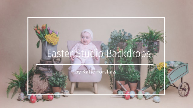 Easter Studio Backdrops by Katie Forshaw Makememagical