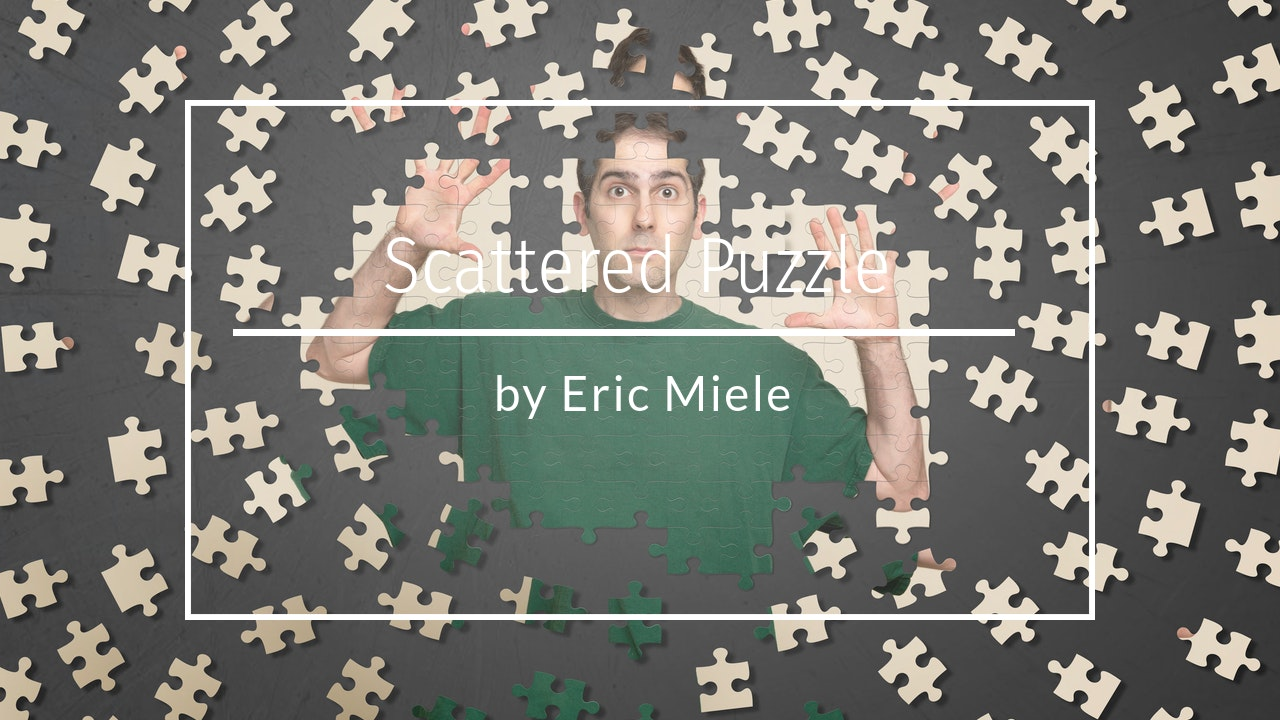 Scattered Puzzle Shapes by Eric Miele