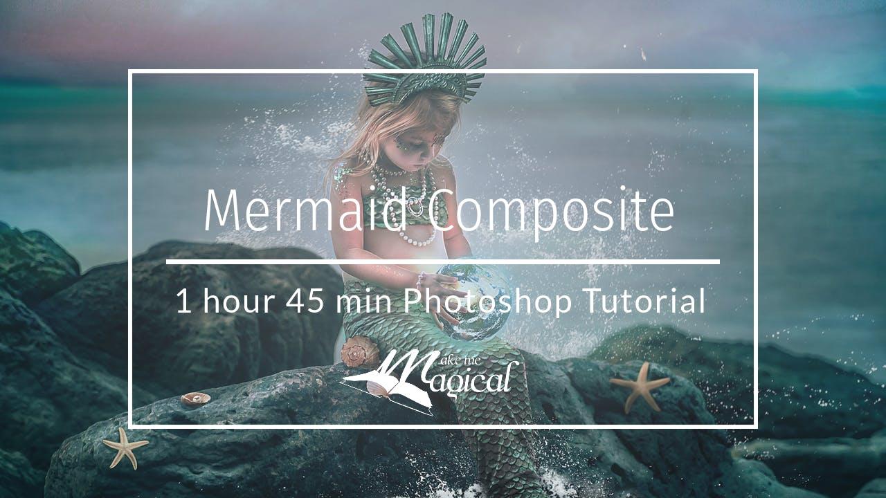 Mermaid Composite Tutorial by Katie Forshaw