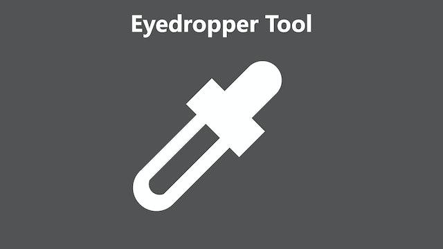 Eyedropper tool tutorial - Feb 2020