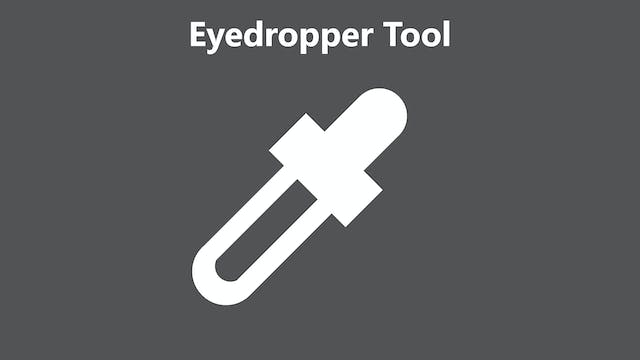 Eyedropper tool tutorial - Feb 2020