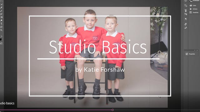 Studio Basics Teaser by Katie Forshaw...
