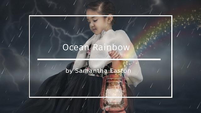 Ocean Rainbow Tutorial by Samantha Easton AUGUST 2020
